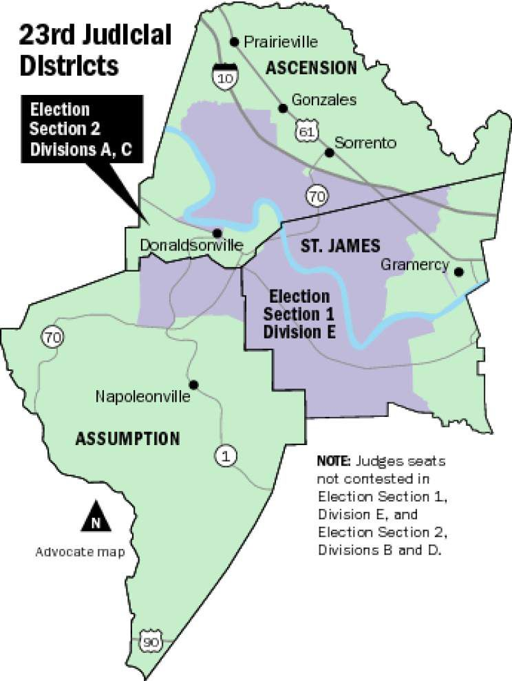 Profile of 23rd Judicial District: Who's leaving, whose vying for two open seats _lowres