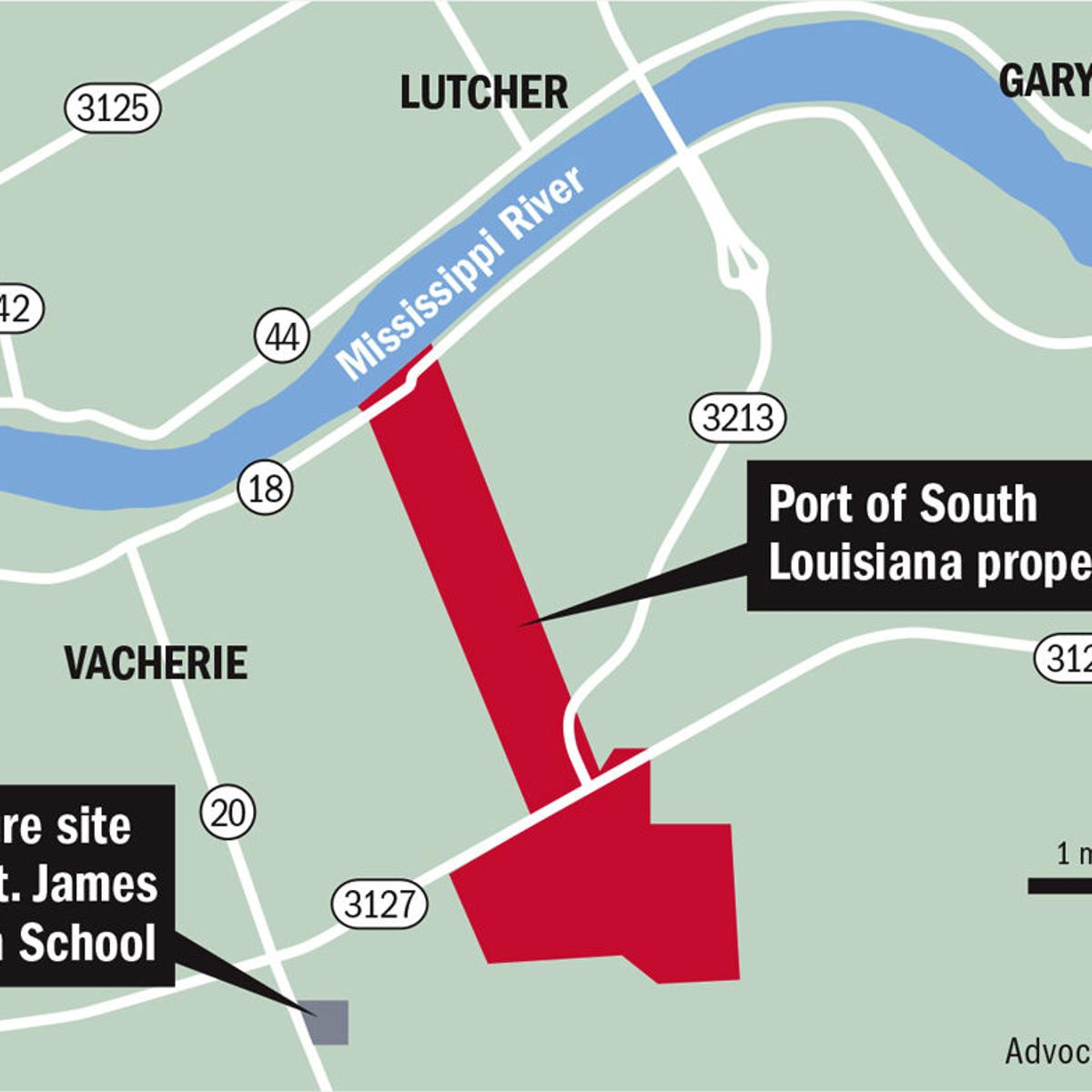 Investors eye new tank farm on western St  James Parish land
