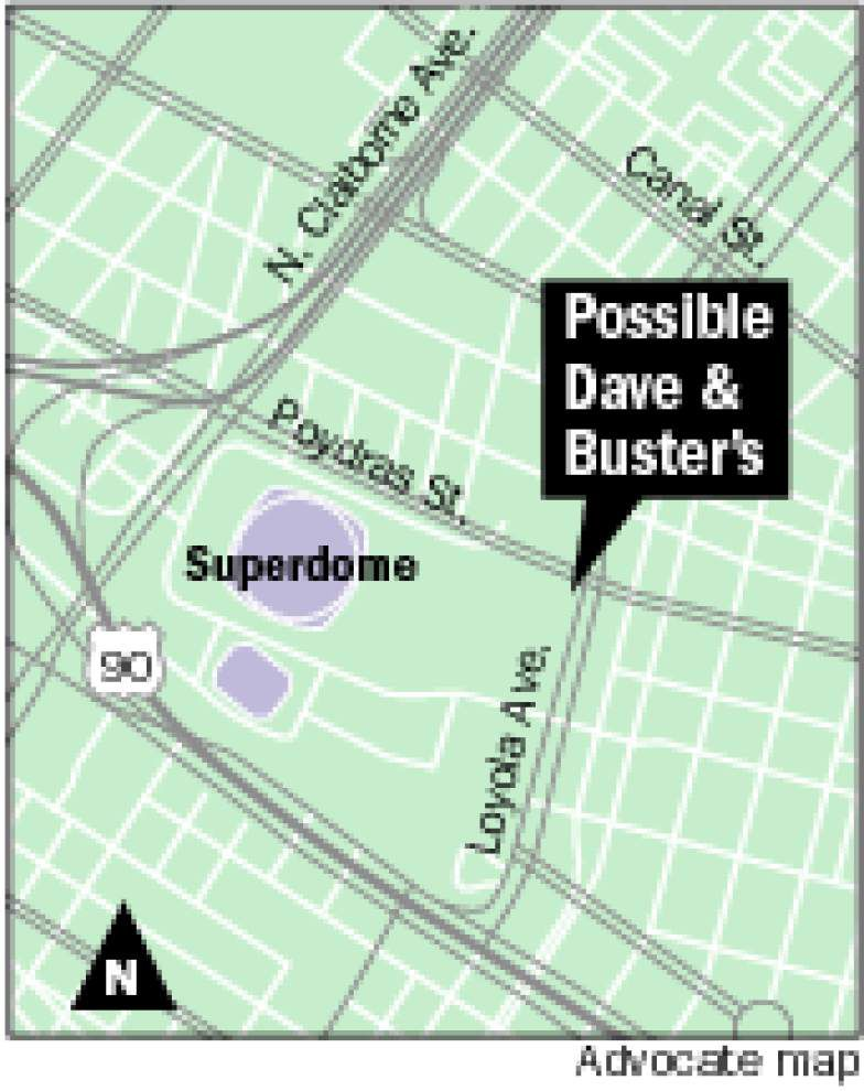 City Planning Commission approves plan for Dave & Busters in the CBD _lowres