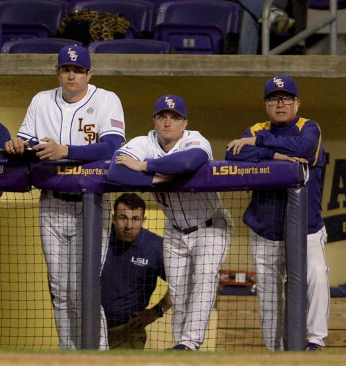 Reasons to smile: Saturday start gives LSU baseball much-needed extra day of rest _lowres