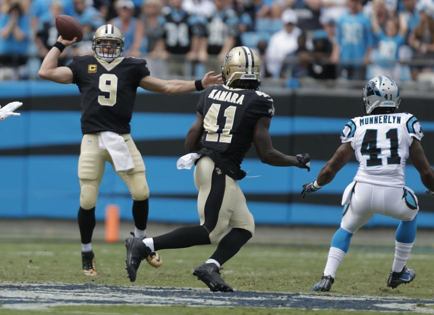 Drew Brees makes it through first three games without an ...