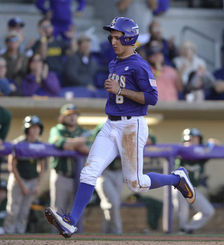'Not coming through in the clutch,' LSU baseball falls 5-4 to Sacramento State _lowres