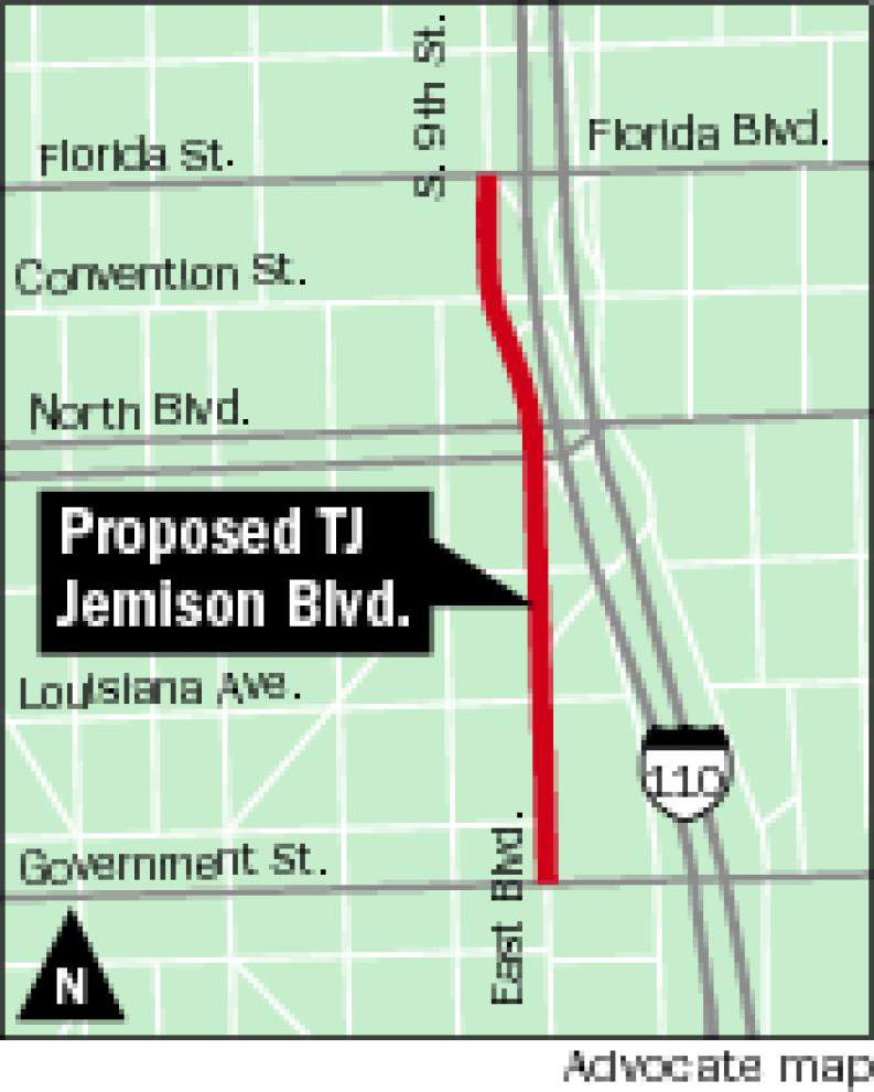 Push is on, again, to rename portion of East Boulevard in honor of Baton Rouge civil rights leader T.J. Jemison _lowres