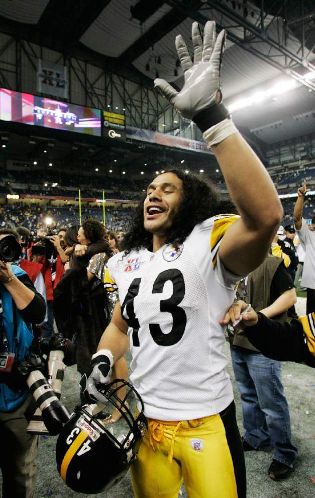 NFL notes: Troy Polamalu makes it official, retires after 12-year career with Steelers _lowres