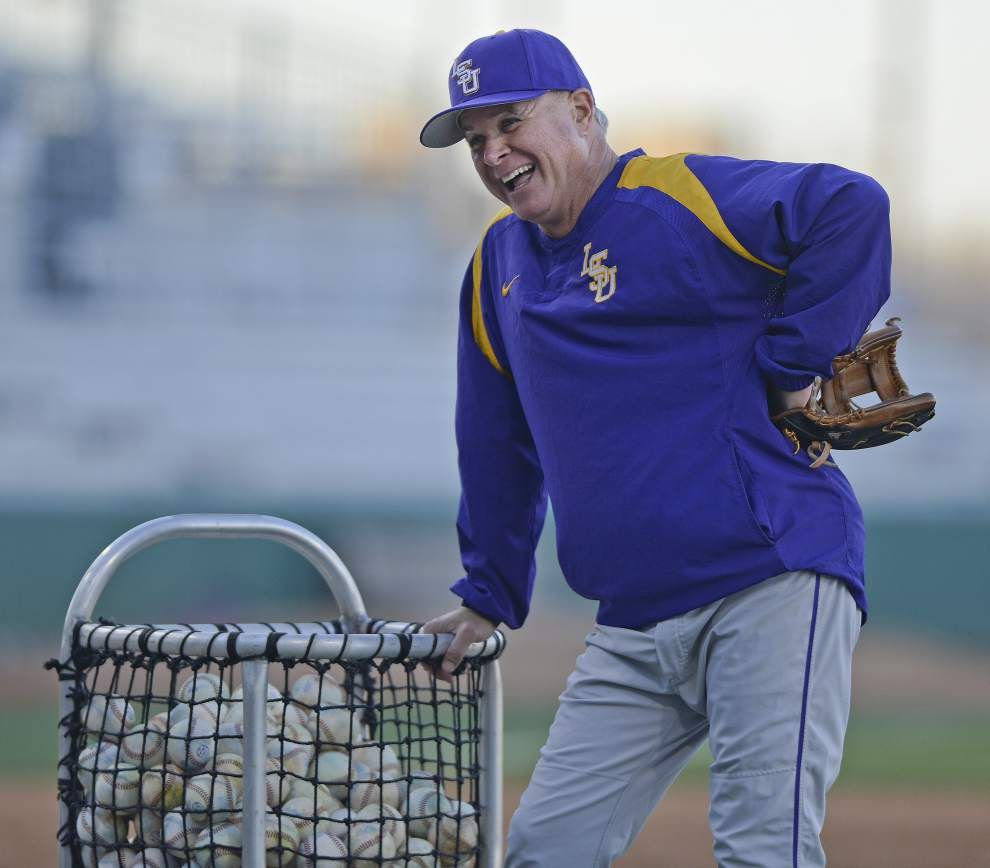 Paul Mainieri meets 'close' friend, former UNO teammate Tim Jamieson when LSU meets Missouri _lowres