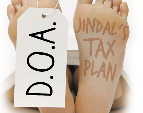 D.O.A.: The demise of Gov. Bobby Jindal's tax plan_lowres