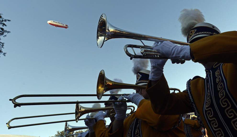 LSU marching band to practice in public Saturday; director hints at halftime surprises this season _lowres