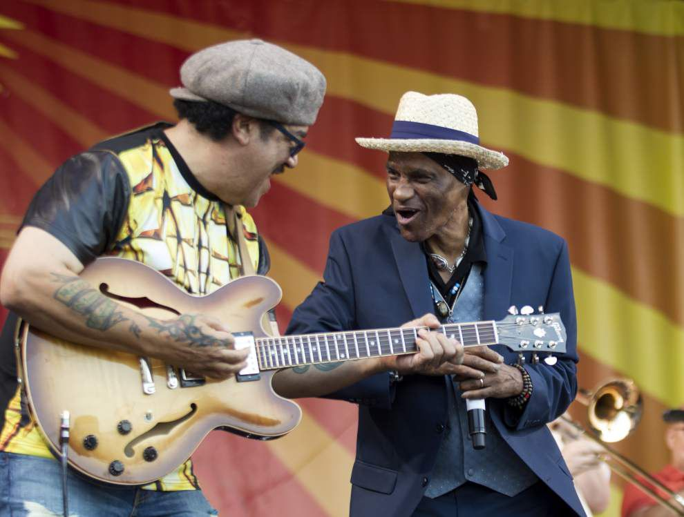 Meters guitarist Leo Nocentelli is happy to be back in New Orleans after 33 years in L.A. _lowres