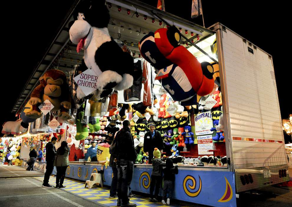 Photo: Le Festival de Mardi Gras fair this weekend in Lafayette _lowres