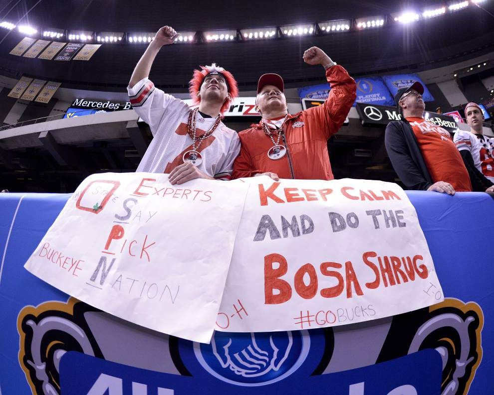 Lewis: Crimson Tide's loss to Ohio State in the Sugar Bowl caps a dreadful stretch for the SEC West _lowres