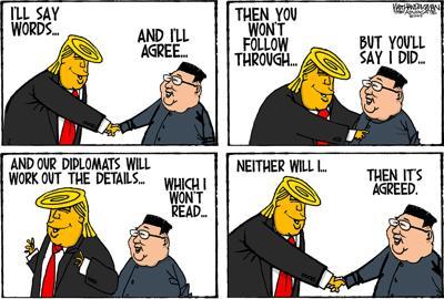 Walt Handelsman: Trump/Kim Part 2