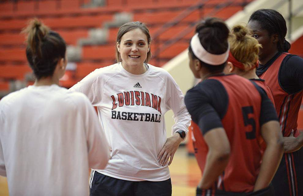 Ragin' Cajuns assistant women's basketball coach Sallie Guillory to leave the university _lowres