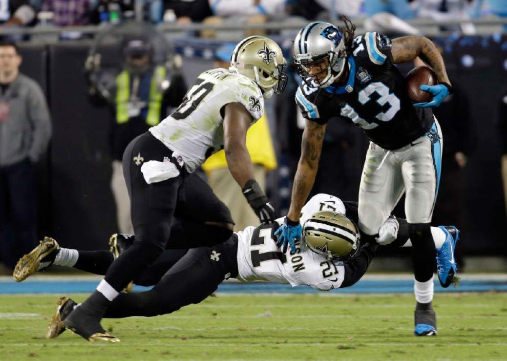 Panthers enter Sunday's game at the Saints having not won since Oct. 5 _lowres