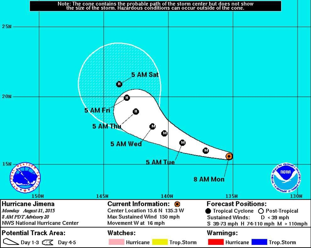 Hurricane Fred forms in the Atlantic, should begin weakening on Tuesday _lowres