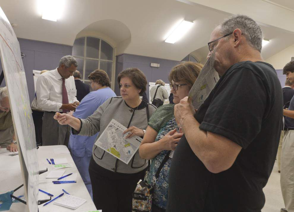 Consultants outline road plans for proposed Baton Rouge medical district _lowres