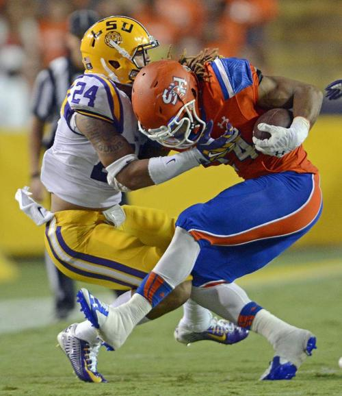 Sam Houston State's offense goes missing in Tiger Stadium _lowres