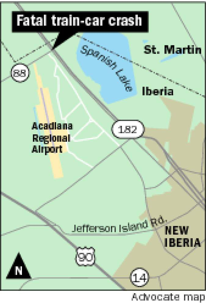 Fourth person dies following New Iberia train crash; 12-year-old succumbs at Baton Rouge hospital. _lowres