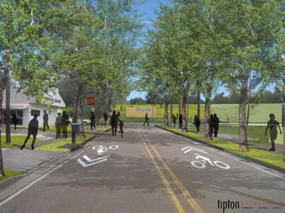 West Baton Rouge levee bike trail work starts with Brusly trailhead _lowres