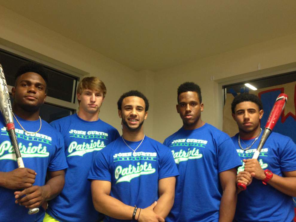 John Curtis' baseball player Dorian Rodrigue is getting lots of support as he battles a rare form of cancer _lowres