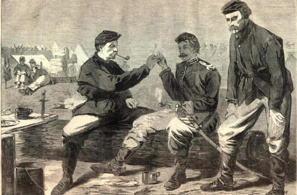 When the Cannons Fell Silent: Exhibit illustrates life in America after Civil War _lowres