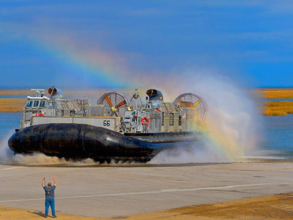 Textron starts work on new Navy hovercraft in N.O. East _lowres