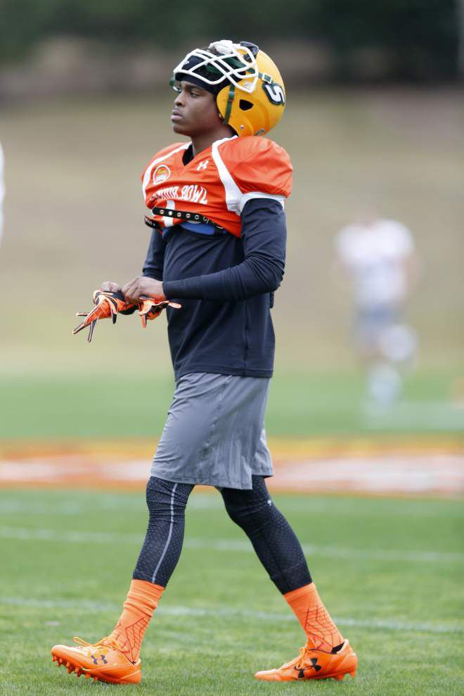 Southeastern's Harlan Miller exceeding many expectations here at the Senior Bowl _lowres