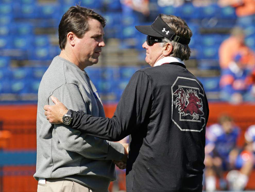 Gators coach Will Muschamp out after season ends _lowres