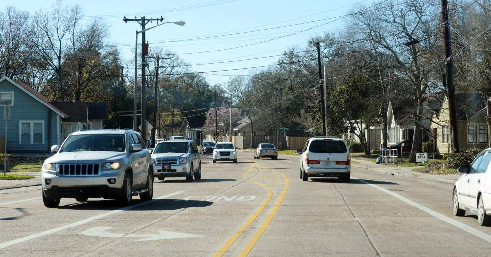 Lafayette's Congress Street to go from 5 lanes to 3, with bike lanes and other features to make it pleasant _lowres