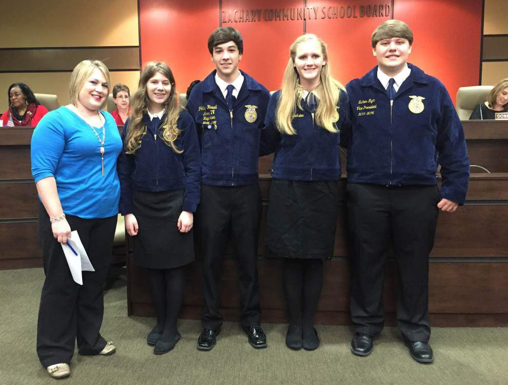 Zachary FFA team earns emblems from competition _lowres
