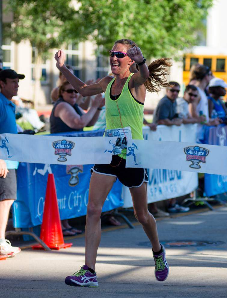 Ian Carr completes sweep of bridge running series _lowres
