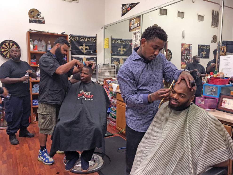 Barbershop friends: Image of Cardell Hayes as violent killer all wrong _lowres