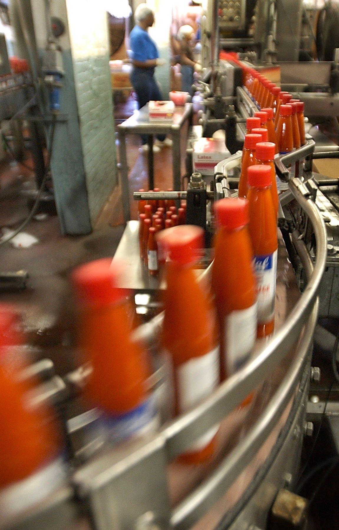 Crystal Hot Sauce bottles... 09/04/03