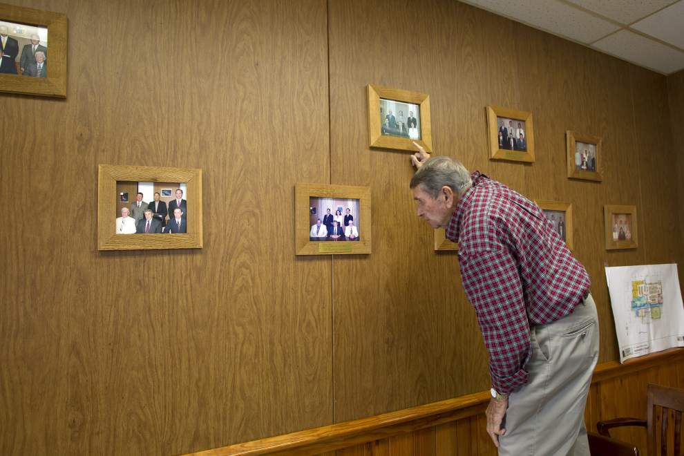 Madisonville to bid farewell to Mayor Peter Gitz after 40 years in office _lowres