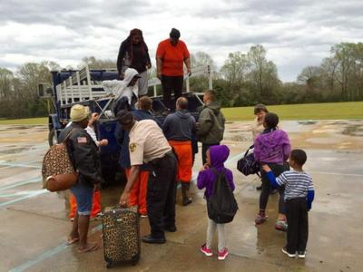 Photos, videos: Dramatic rescues in north Louisiana; major flooding in Tangipahoa Parish _lowres