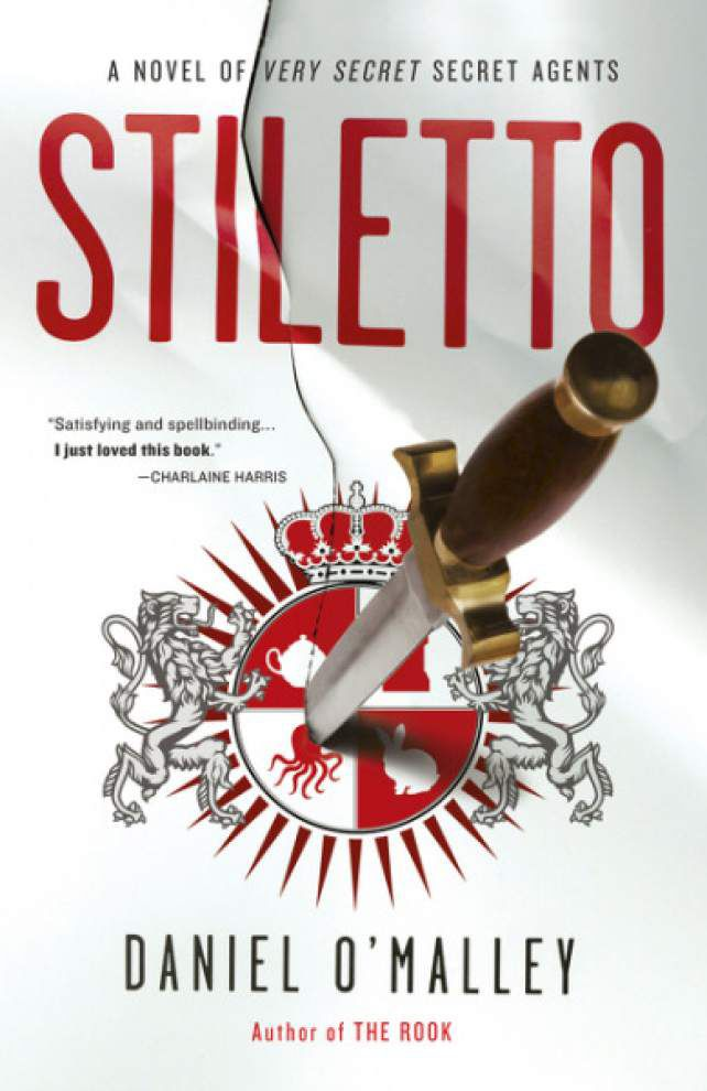 Book review: 'Stiletto' imaginative, fun romp through London _lowres