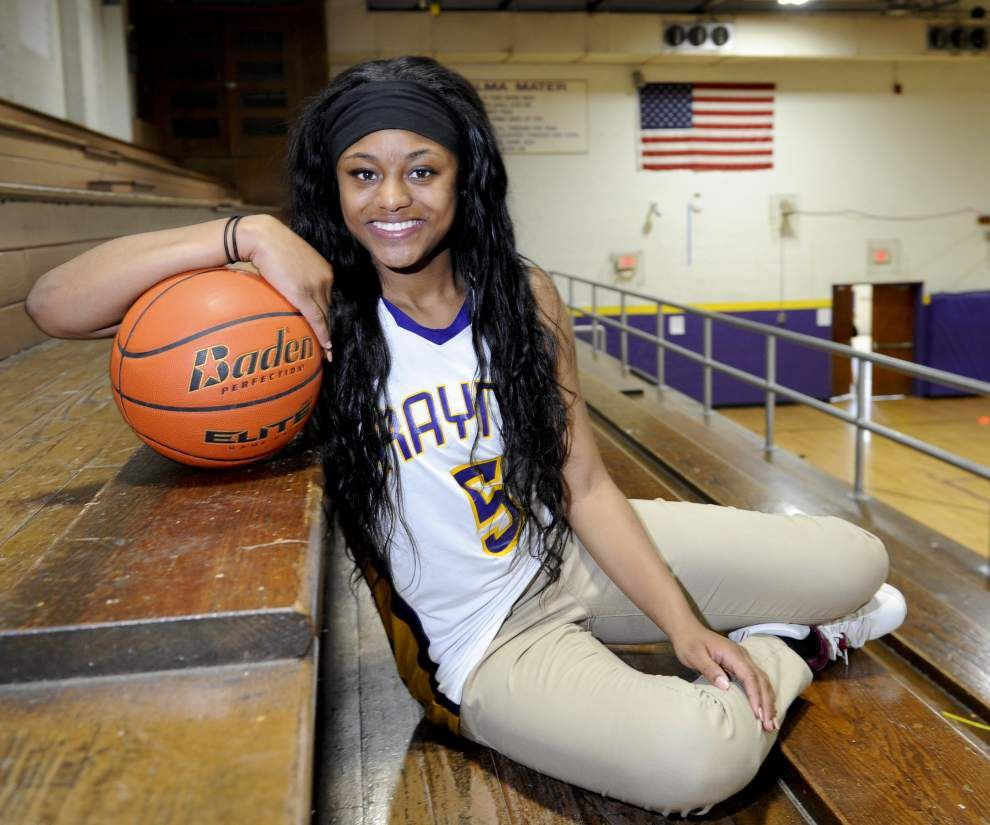 Rayne basketball standout Charlesha Dugas signs with Southeastern Louisiana _lowres