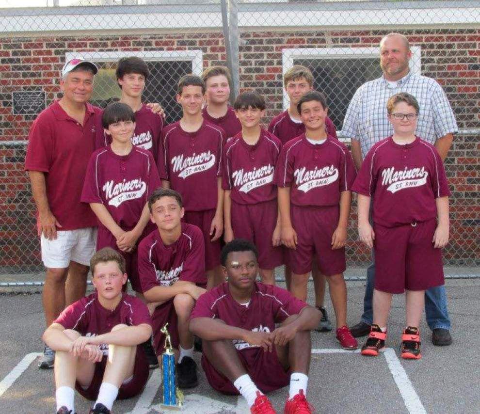 St. Ann Catholic School boys find success in cabbageball _lowres