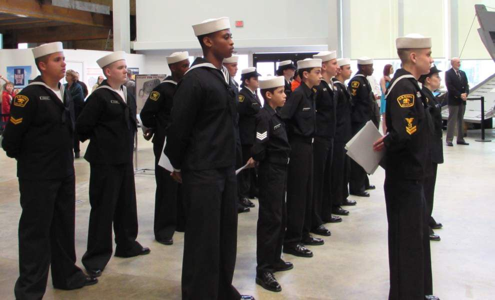 U.S. Naval Sea Cadet Corps holds awards ceremony _lowres