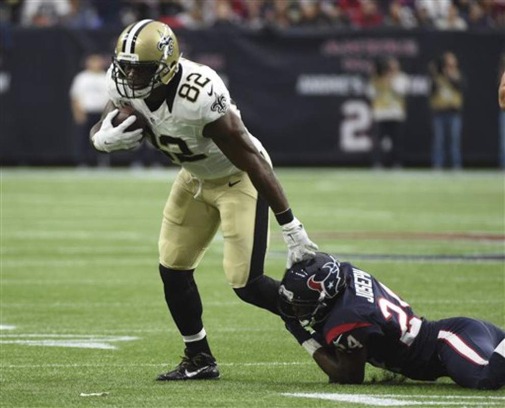 Saints tight end Benjamin Watson nominated for NFL's Man of the Year award _lowres