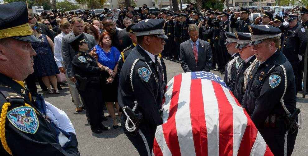Many pay last respects to slain JPSO Deputy David Michel Jr.: He 'gave so much to his community' _lowres