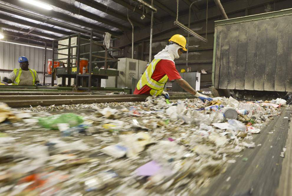 Baton Rouge considering eliminating glass from recycling program due to processing cost, lack of market _lowres (copy)
