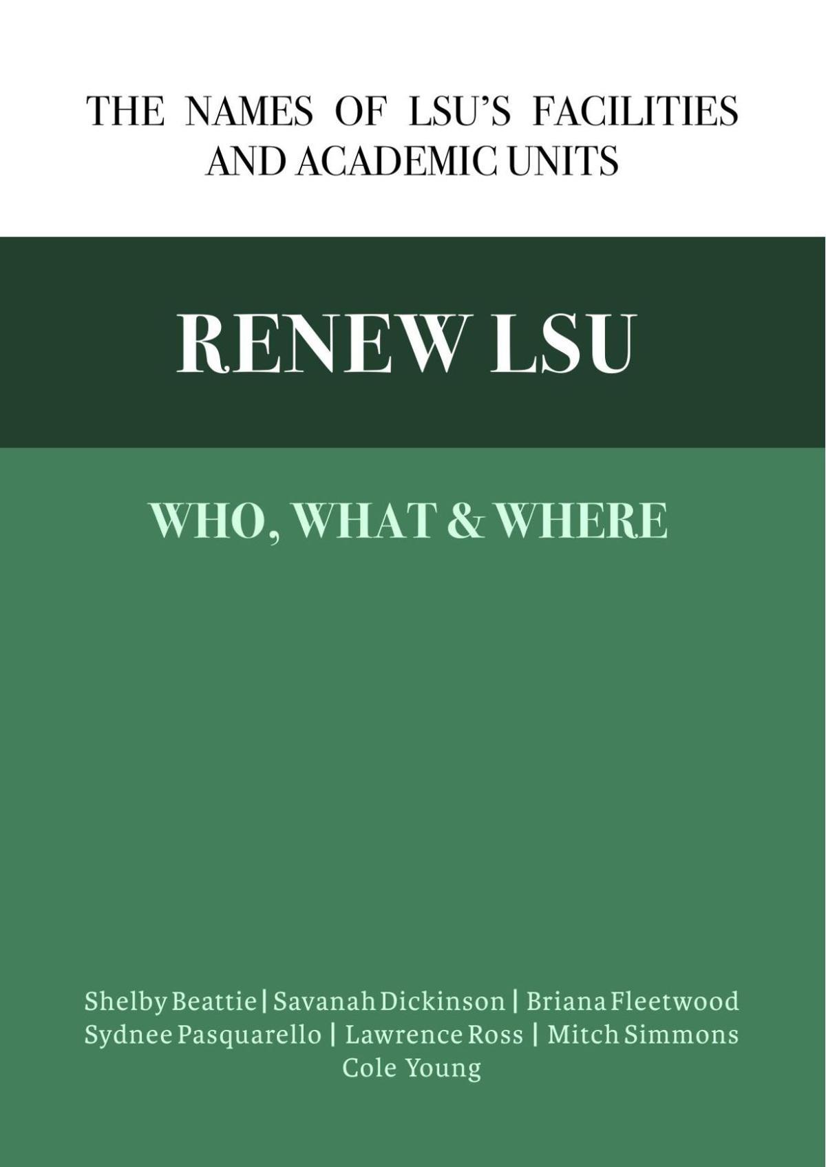Renew LSU Research
