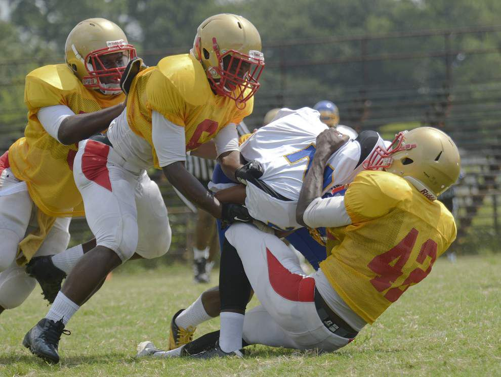 Transition going well for Capitol Charter School football team _lowres