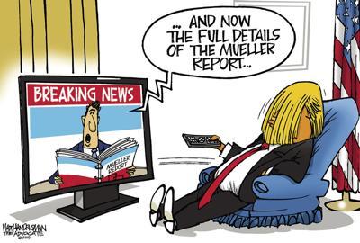Walt Handelsman: Mueller Report Details