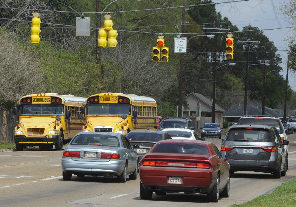 School bus routes, earlier school dismissals under review as Lafayette officials address costs and bus driver safety _lowres