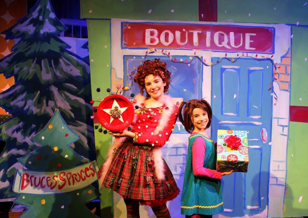 Young performers stage 'Fancy Nancy's Splendiferous Christmas' in Kenner _lowres