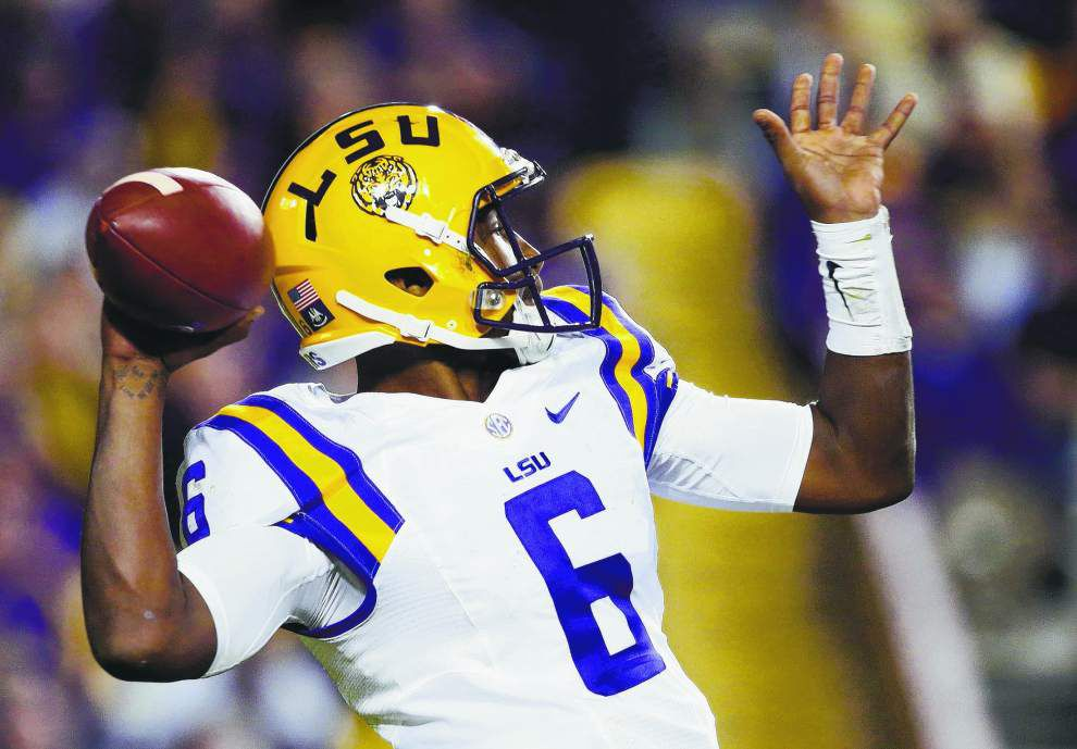 'We'll get the last laugh': A confident LSU quarterback Brandon Harris fueled - still - by the cynics _lowres