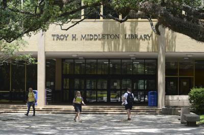 Lsu Campus Map 2016.Imagine Lsu S Campus Without Middleton Library Lockett Hall Plan