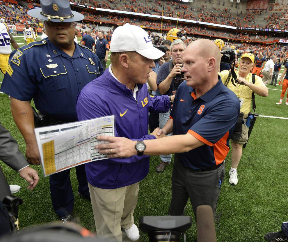 Les Miles' Defense: On and off the field, State Police sergeant Bryan Madden has Les Miles' back _lowres