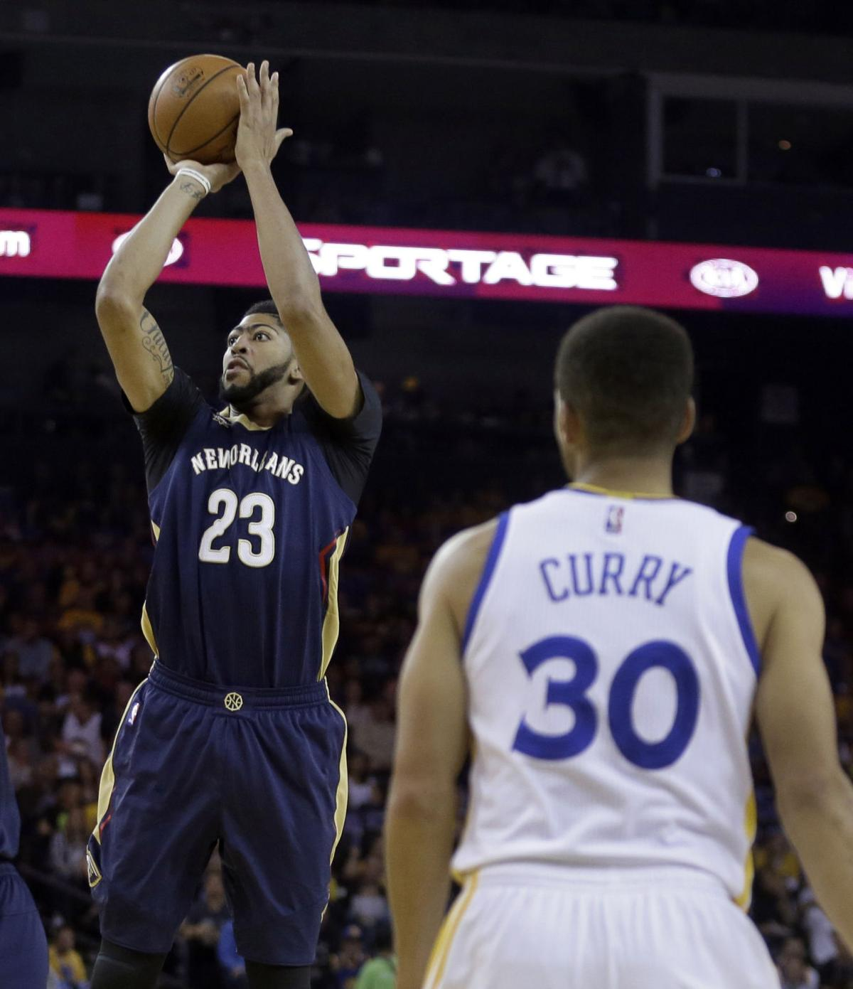 Anthony Davis, Stephen Curry